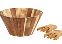 Top 10 Best Wooden Bowl for Caesar Salad Review