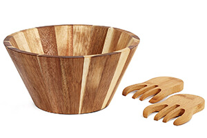 Top 10 Best Wooden Bowl for Caesar Salad in 2018 Review