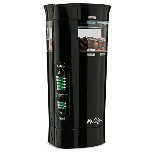 1.      Mr. Coffee 12 Cup Electric Coffee Grinder