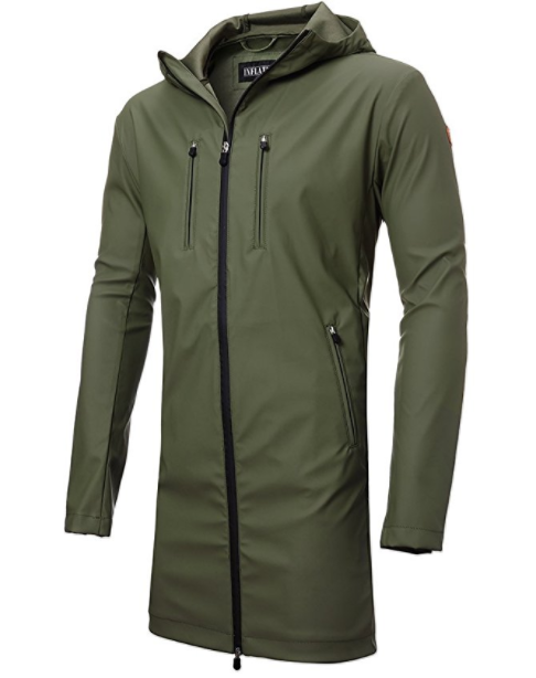 10. Classic Men's Breathable Lightweight Rain Jacket