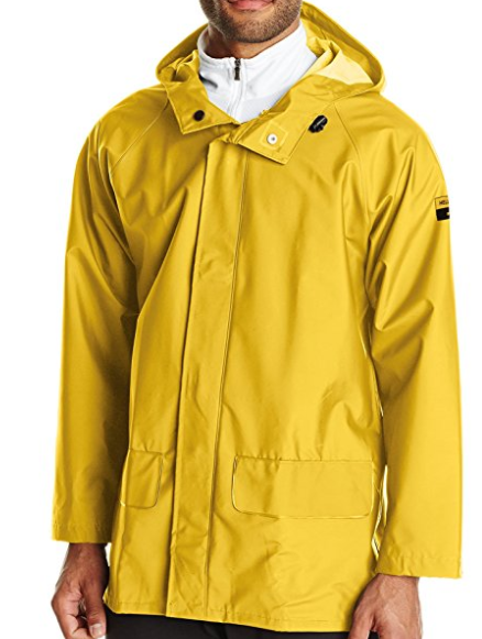 3. Helly Hansen Workwear Men's Mandal Rain Jacket