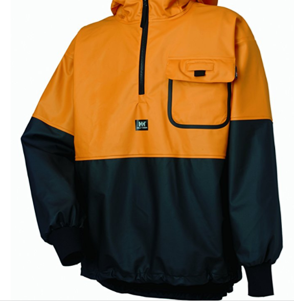 4. Helly Hansen Workwear Men's Roan Rain and Fishing Jacket