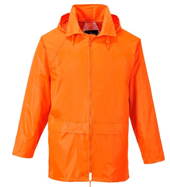 5. Portwest Men's Classic Rain Jacket
