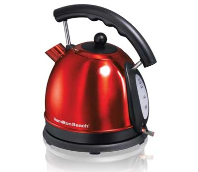 8. Hamilton Beach 1.7L Stainless Steel Electric Kettle 40894