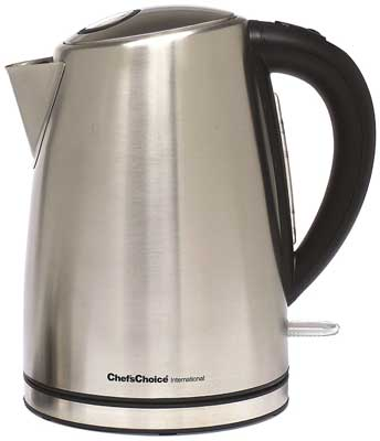 9.Chef's Choice 681 Cordless Electric Kettle