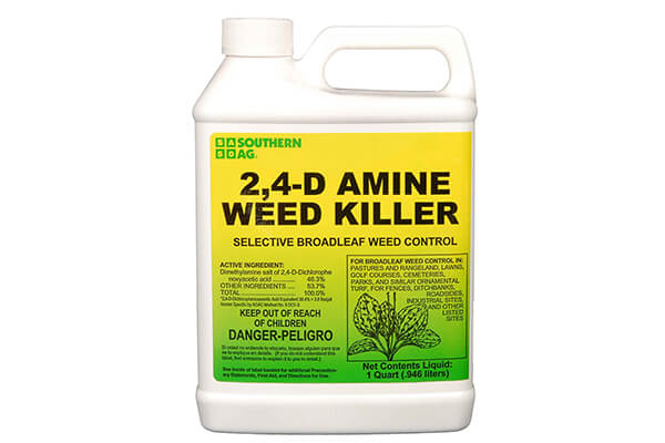 Southern Ag 2,4-D Amine Weed Killer Selective Broadleaf Weed Control