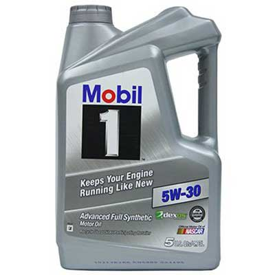 4. Mobil 1 Synthetic Motor Oil