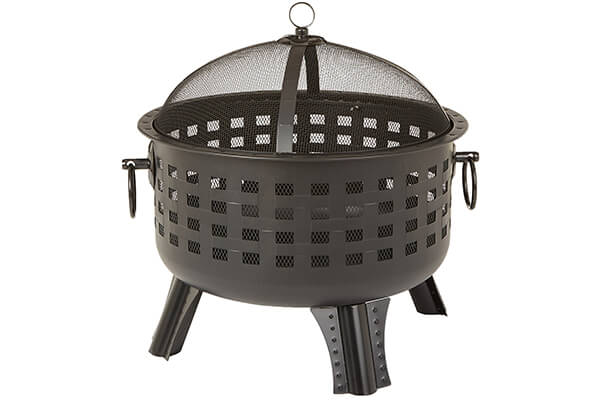 AmazonBasics Steel Lattice Fire Pit