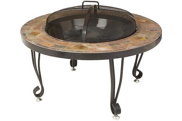 AmazonBasics 34-Inch Natural Stone Fire Pit