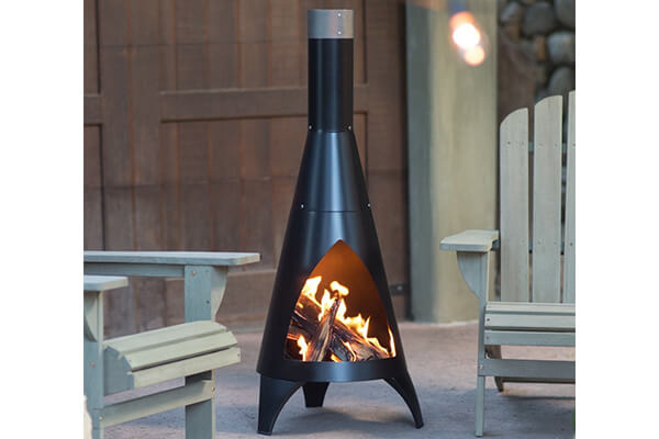 Chiminea by Red Ember Alto with Robust Steel Construction