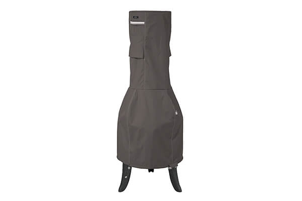 Classic Accessories Ravenna Outdoor Chiminea Cover - Premium Outdoor Cover with Durable and Water Resistant Fabric, Medium (55-813-035101-EC)