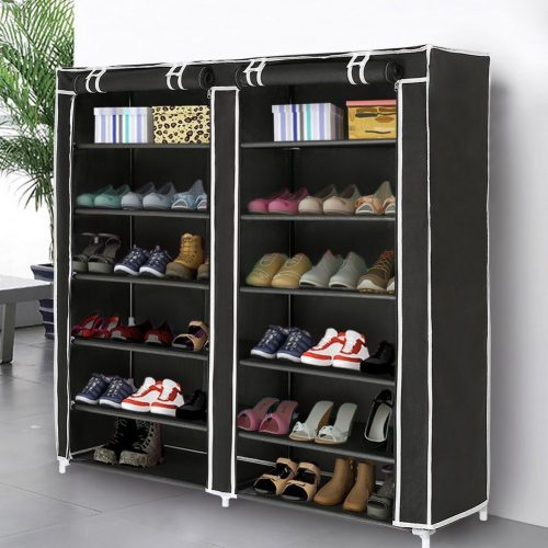 Blissun 7 Tiers Shoe Rack Shoe Storage Organizer Cabinet Tower