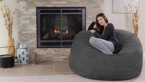 A Bean Bag Chair Is Large Fabric Filled With Dried Beans Polystyrene Beads Or Similar Substance The Product Type Of An Anatomic