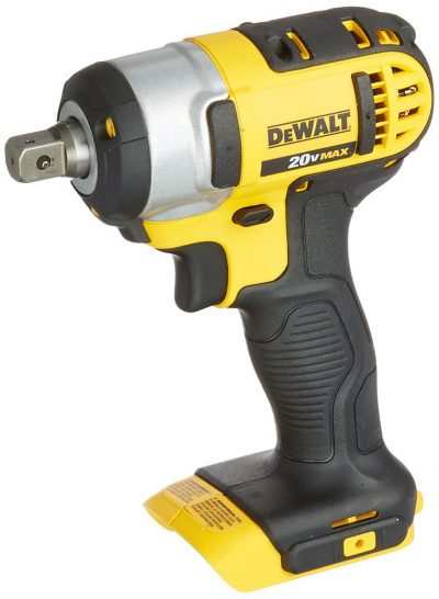 DEWALT DCF880B 20-Volt Li-Ion 1/2-Inch Impact Wrench Kit -Impact Guns