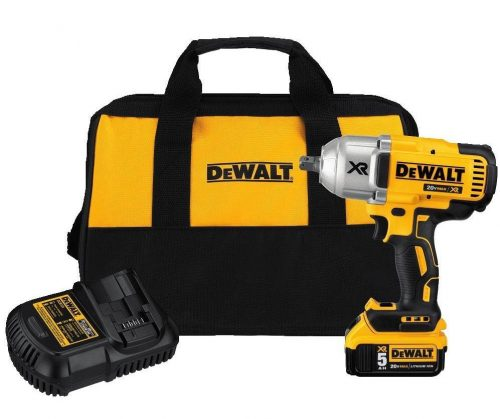 "DEWALT DCF899P1 20V MAX XR Brushless High Torque 1/2"" Impact Wrench"