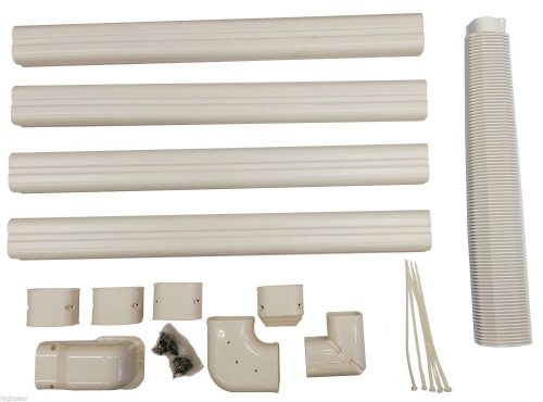 Decorative PVC Line Cover Kit for Mini Split Air Conditioners