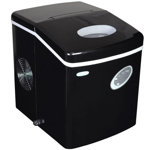 NewAir AI-100BK 28-Pound Portable Ice Maker-Ice Makers
