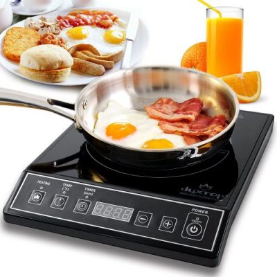 Secura 9100MC 1800W Portable Induction Cooktop Countertop Burner