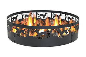 Top 10 Best Wood Burning Fire Rings in 2018 Reviews