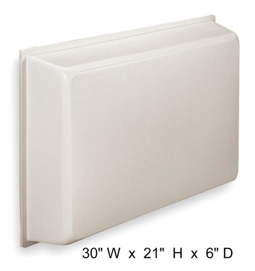 Universal AC Cover, Molded Plastic