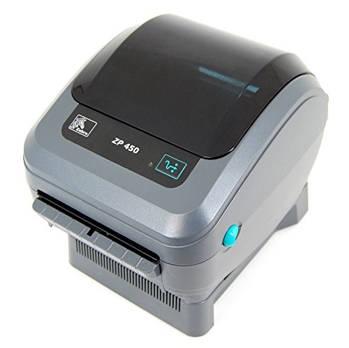 Zebra Zp 450 Thermal Label Printer