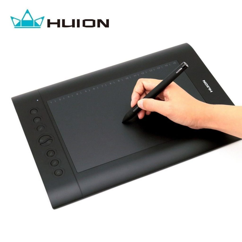 1. Huion H610PRO Painting Drawing Pen Graphics Tablet