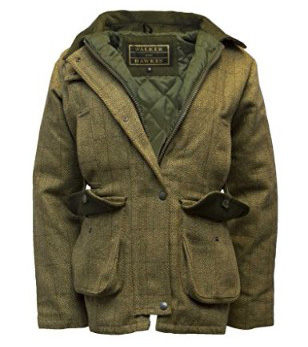 Walker and Hawkes Women's Derby Tweed Shooting Hunting Country Jacket