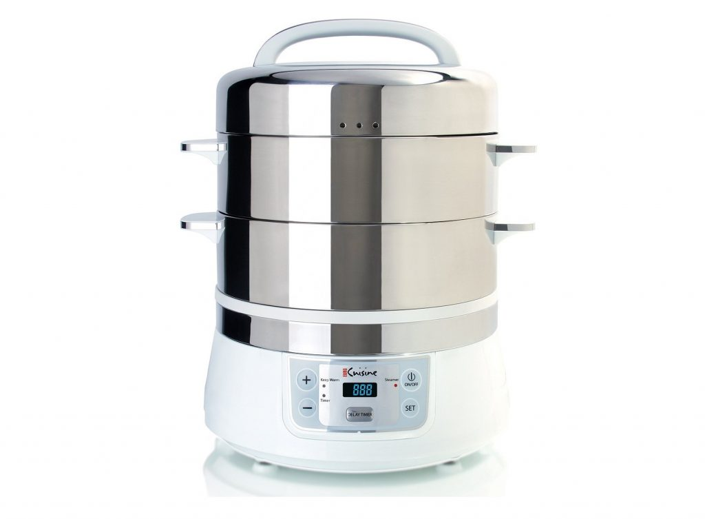 10. Euro Cuisine FS2500 Electric Food Steamer