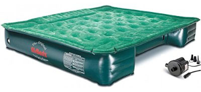 AirBedz Lite (PPI PV202C) Full-Size Short and Long 6_-8_ Truck Bed Air Mattress with DC Corded