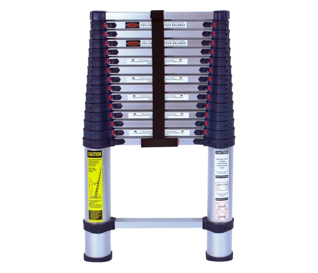 2. Xtend & Climb 785P Aluminum Telescoping Ladder Type I Professional Series, 15.5-Foot