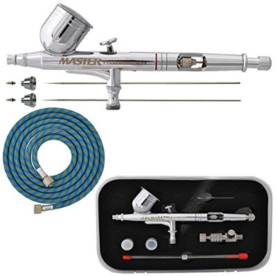 Master Airbrush G233-SET Multi-Master Performance G233 Pro Set Dual-Action Gravity Feed
