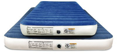 SoundAsleep Camping Series Air Mattress with Eco-Friendly - Included Rechargeable Air Pump