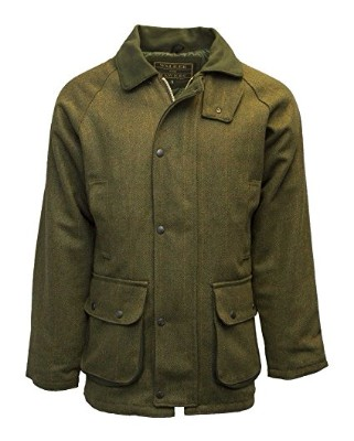 Walker and Hawkes Men's Derby Tweed Shooting Hunting Country Jacket