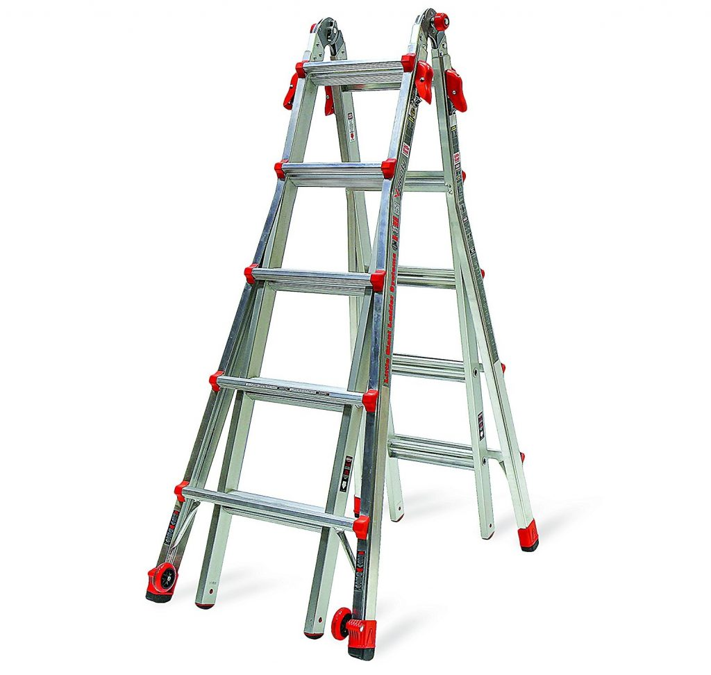 3. Little Giant 22-Foot Velocity Multi-Use Ladder, 300-Pound Duty Rating, 15422-001