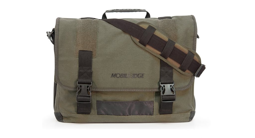 3. Mobile Edge ECO Laptop Messenger for Laptops up to 17.3-Inch (Green)