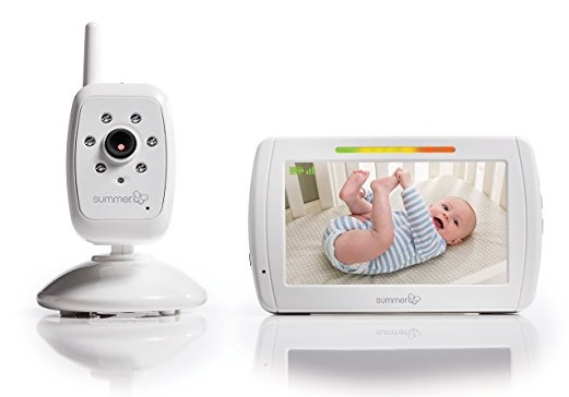 3. Summer Infant In View Digital Color Video Baby Monitor