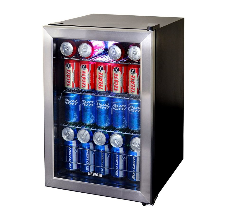 4. NewAir AB-850 84-Can Beverage Cooler, Cools to 34 Degrees