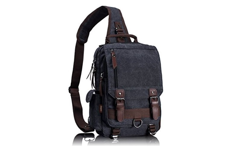 5. Leaper Cross Body Messenger Bag Shoulder Backpack Travel Rucksack Sling Bag