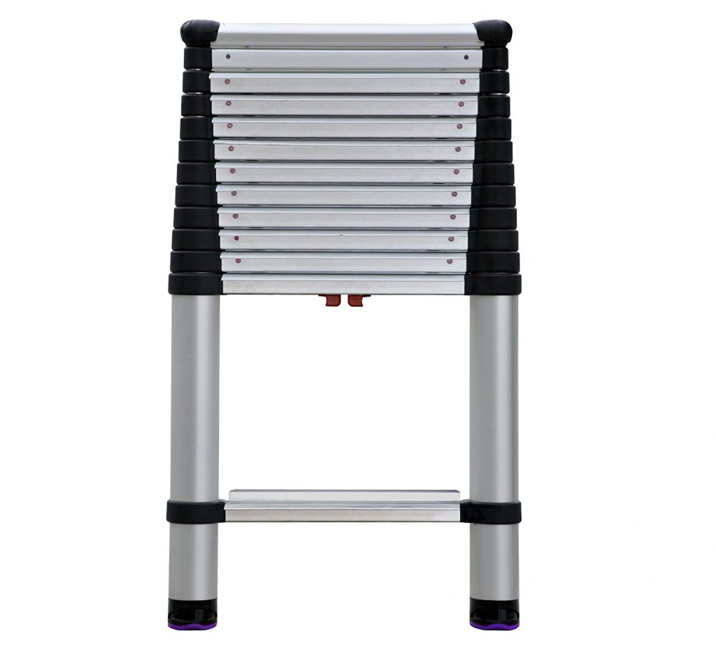 6. Telesteps 1600EP OSHA Compliant 16 ft Reach Professional Wide Step Telescoping Extension Ladder