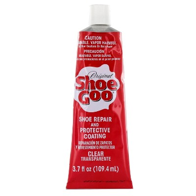 Shoe Goo Repair Adhesive for Fixing Worn Shoes or Boots, Clear, 3.7 Oz. Tube
