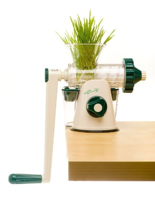 The Original Healthy Juicer (Lexen GP27) - Manual Wheatgrass Juicer - Kale, Spinach, Parsley