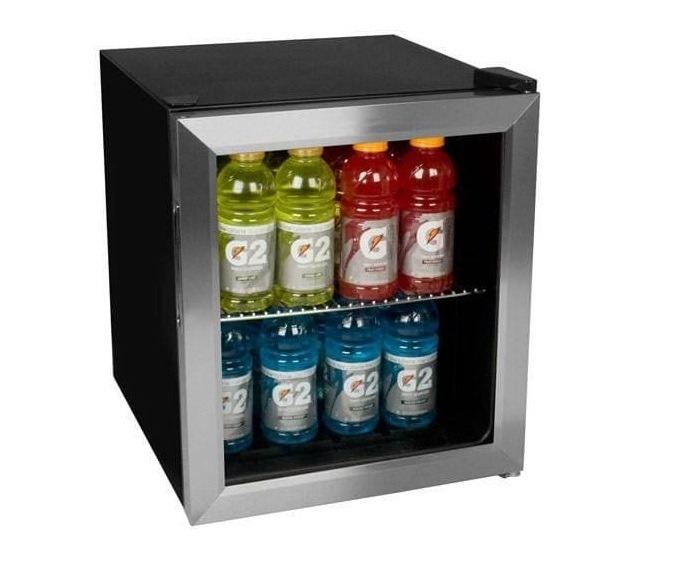 7. EdgeStar BWC70SS 62-Can Beverage Cooler - Stainless Steel