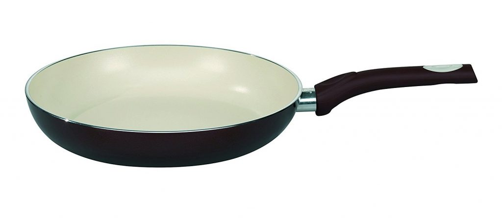 8. ELO Pure Aubergine Kitchen Induction Cookware Frying Pan with Thermoceramica Non-Stick Scratch Resistant Coating, 12.5-inch