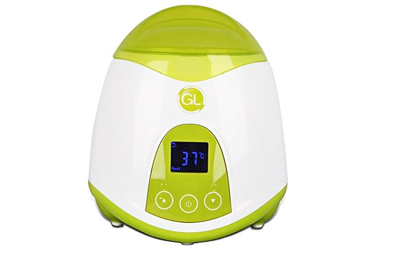 8. Gland Baby Bottle Warmer and Food Warmer for Heating Breastmilk Food Travel Home, Electric Portable, Quick Bottle Warming System, LCD Display (Green)