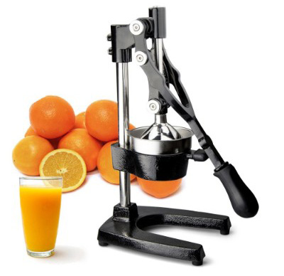 TrueCraftware Commercial Citrus Juicer Hand Press - Manual Juicer Extractor - Fruit Juice Press