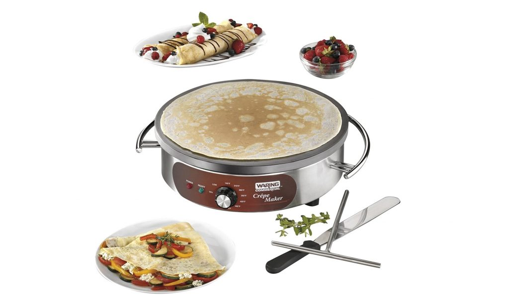 9. Waring Commercial WSC160X Heavy-Duty Electric Crepe Maker