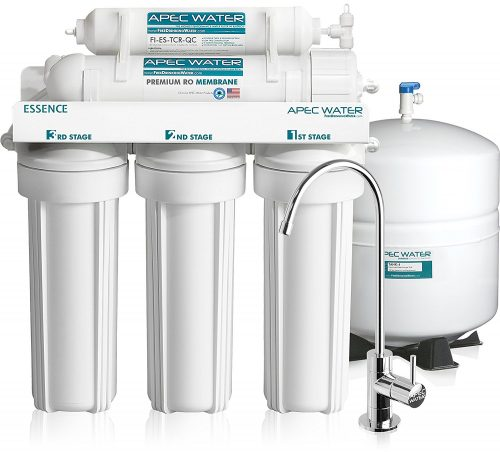 APEC Top Tier 5-Stage Ultra Safe Reverse Osmosis Drinking Water Filter System-Best Whole House Water Filter