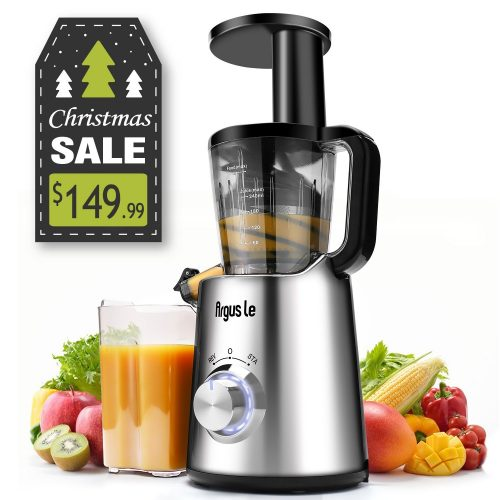 Argus Le Electronic Control Slow Masticating Juicer