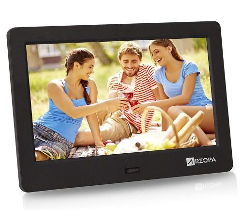 Arzopa 7-inch IPS Widescreen Digital Photo Frame