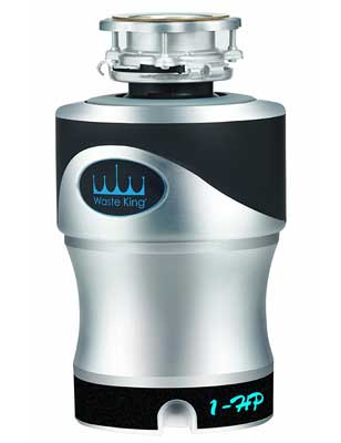 5. Waste King Garbage Disposer with 1.0 Horsepower